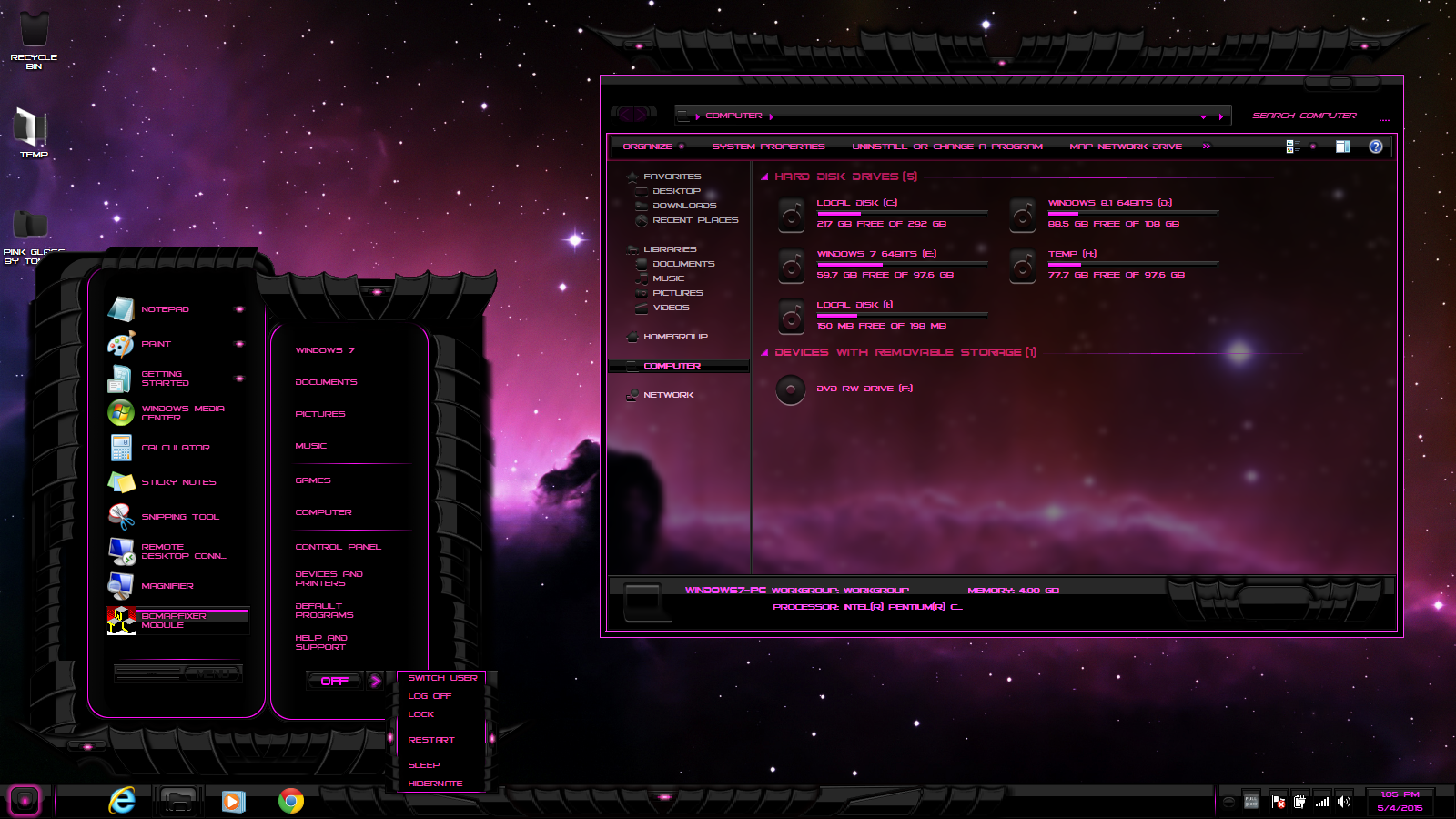 free download of desktop themes for windows 7