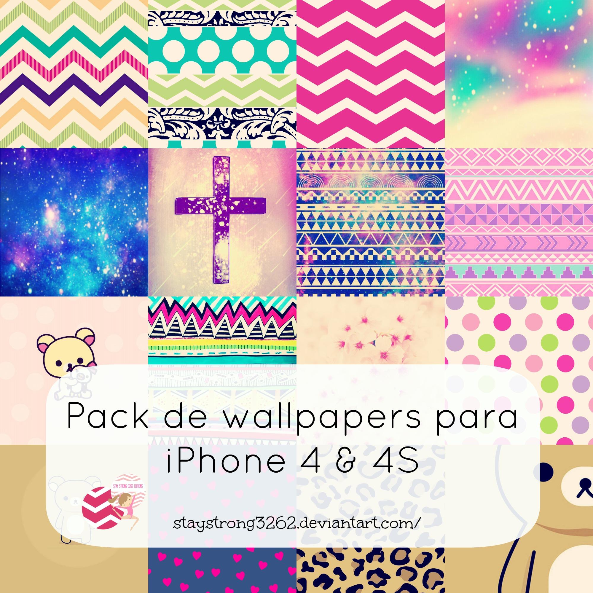 Iphone wallpaper pack tumblr - Tumblr Wallpaper For Iphone 4 Pack De 140 Wallpapers Para Iphone 4 Y 4s By