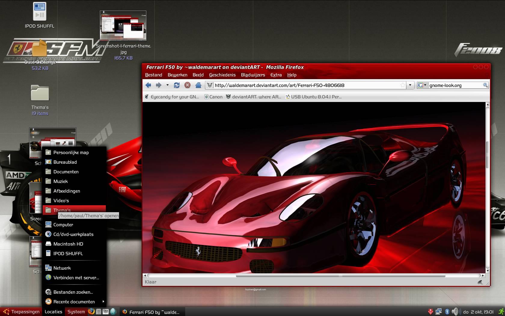 Ferrari-theme