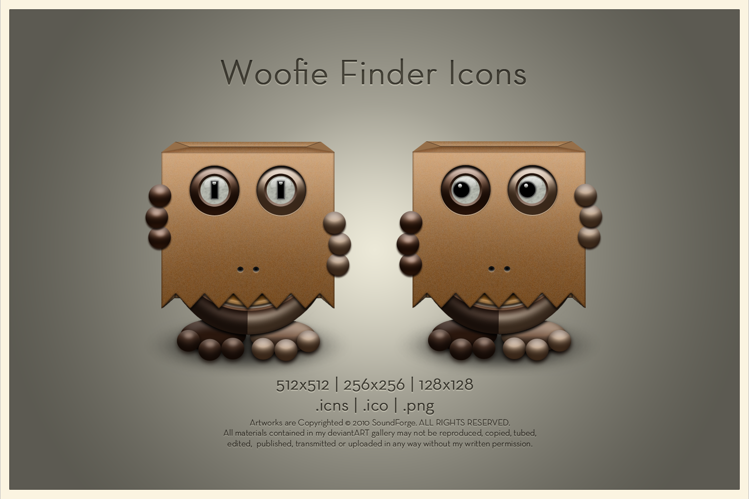 Woofie Finder Icon by SoundForge