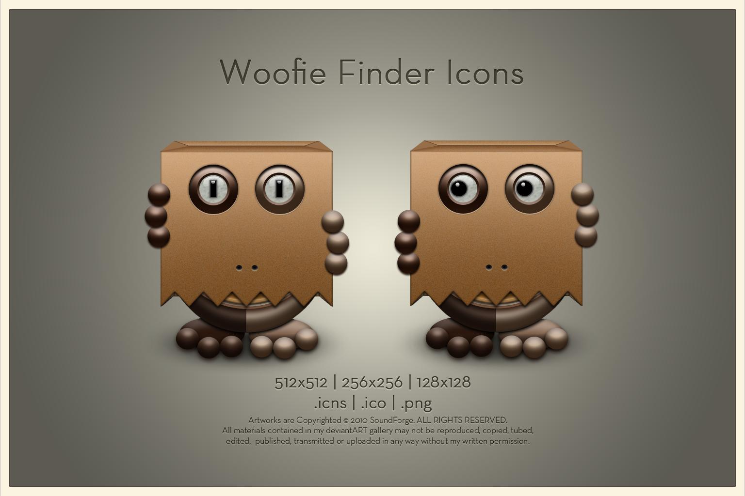 Woofie Finder Icon by SoundForge