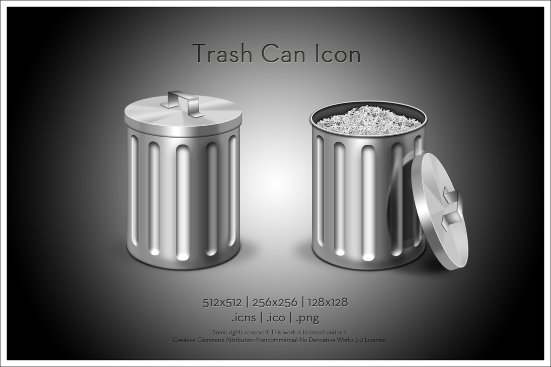 Trash Can Icon by SoundForge on DeviantArt