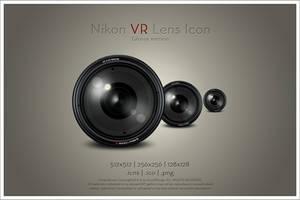 Nikon VR Lens Icon v2 by SoundForge