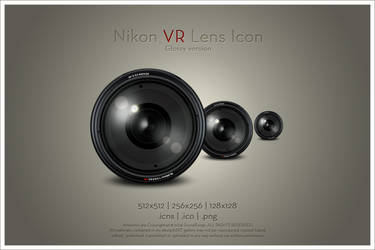 Nikon VR Lens Icon v2 by SoundForge