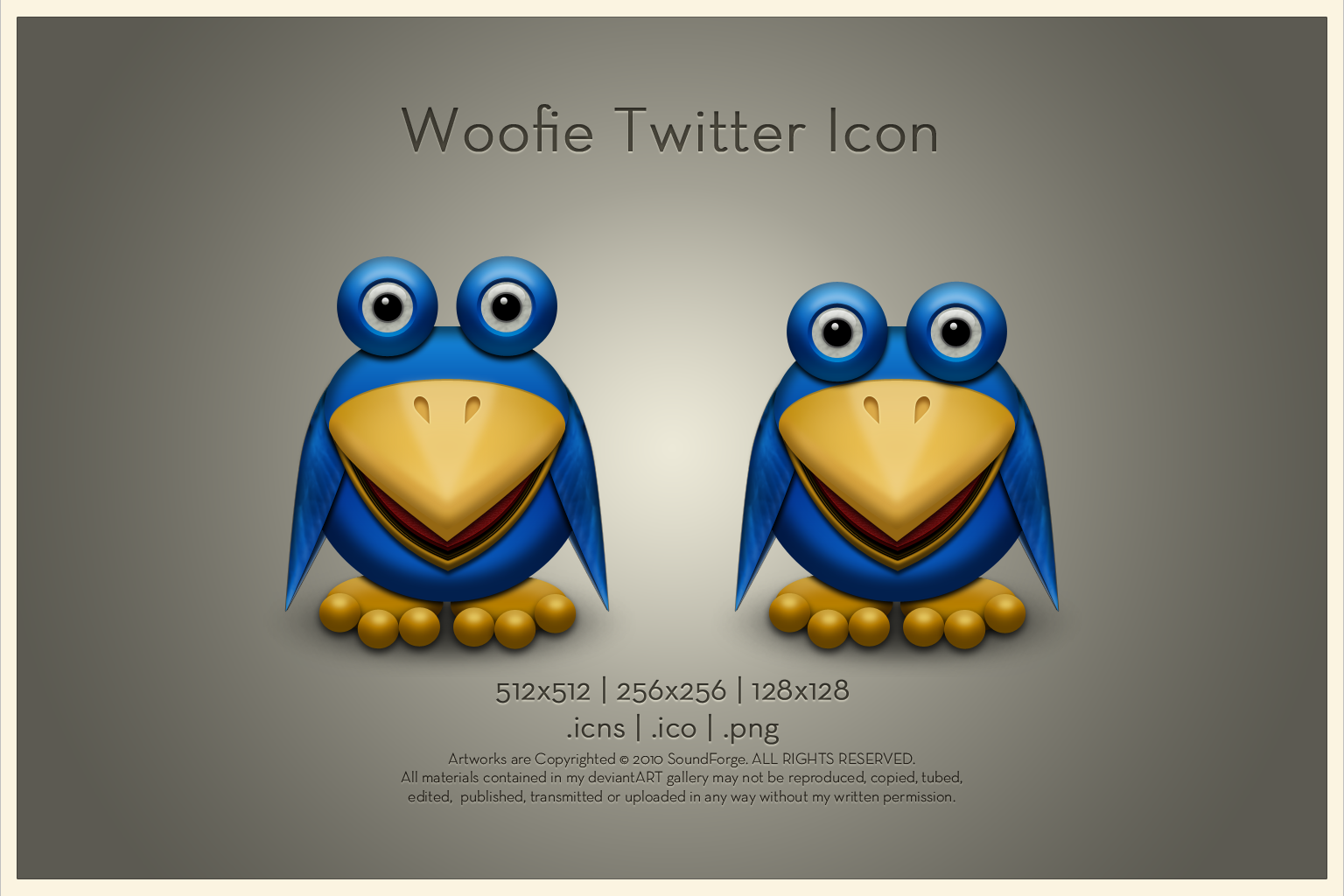 Woofie Twitter Icon by SoundForge