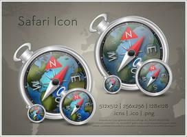 Safari Icon by SoundForge