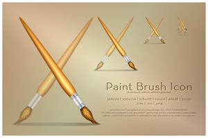 Paint Brush Icon by SoundForge
