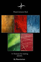 Planet Textures Pack by Planetarium