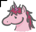 Unicorn Cursor by Ayleids