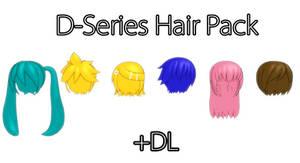 [MMD] D Series Hair Pack +DL