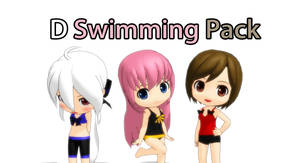 [MMD] D Swimming Pack +DL