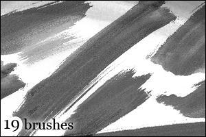 Brushes 1 by DarkAlva