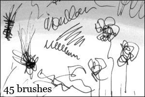 Brushes 2 by DarkAlva