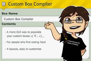 Custom Box Compiler