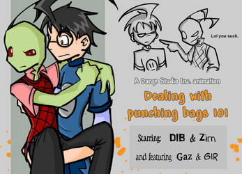 Dealing with punching bags 101 by Darqx