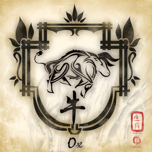 chinese zodiac the ox by aioros sama on deviantart. Black Bedroom Furniture Sets. Home Design Ideas