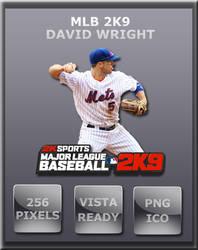 MLB 2K9 David Wright