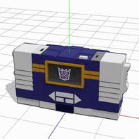 MMD Soundwave transform by yorozubussan