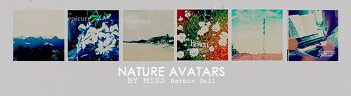 nature avatars