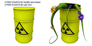 radioactive trash