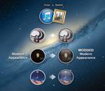 iTunes DockArt Modern Appearance Mod