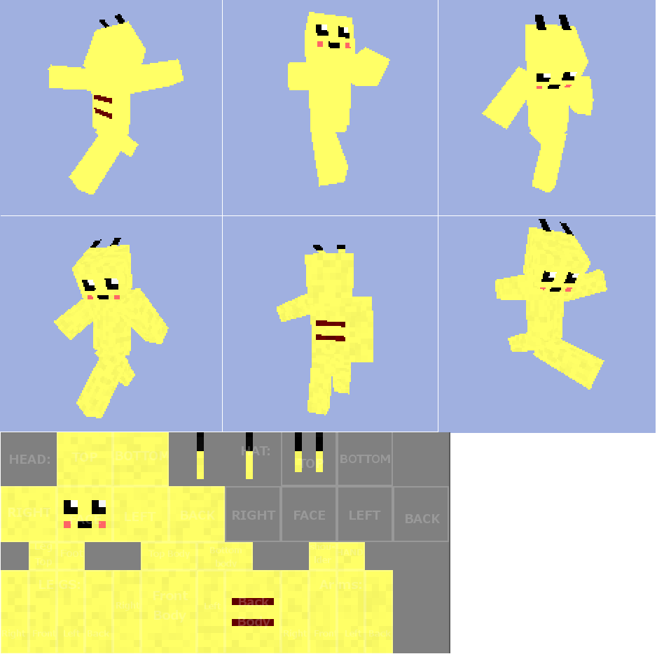 Pikachu minecraft skin by puvm on deviantart pikachu minecraft skin by puvm pikachu minecraft skin by puvm pronofoot35fo Image collections