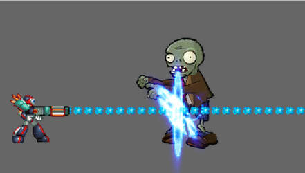 Axl combo on zombie by HadoukenResident