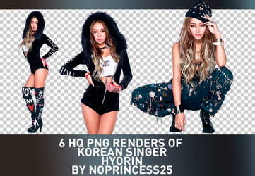 PNG PACK #97 | HYORIN by NoPrincess25