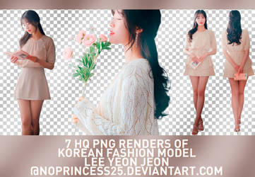 PNG PACK #437 | LEE YEON JEON by NoPrincess25