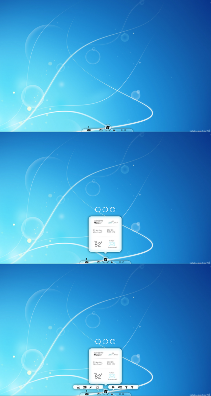 Windows Next Bar by dashmaister
