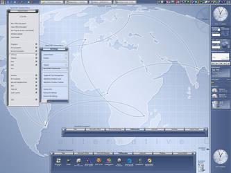 Pixxy Horizontal Startbar @Top by vectornut