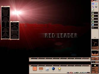 RedLeader_NS Vertical Startbar by vectornut