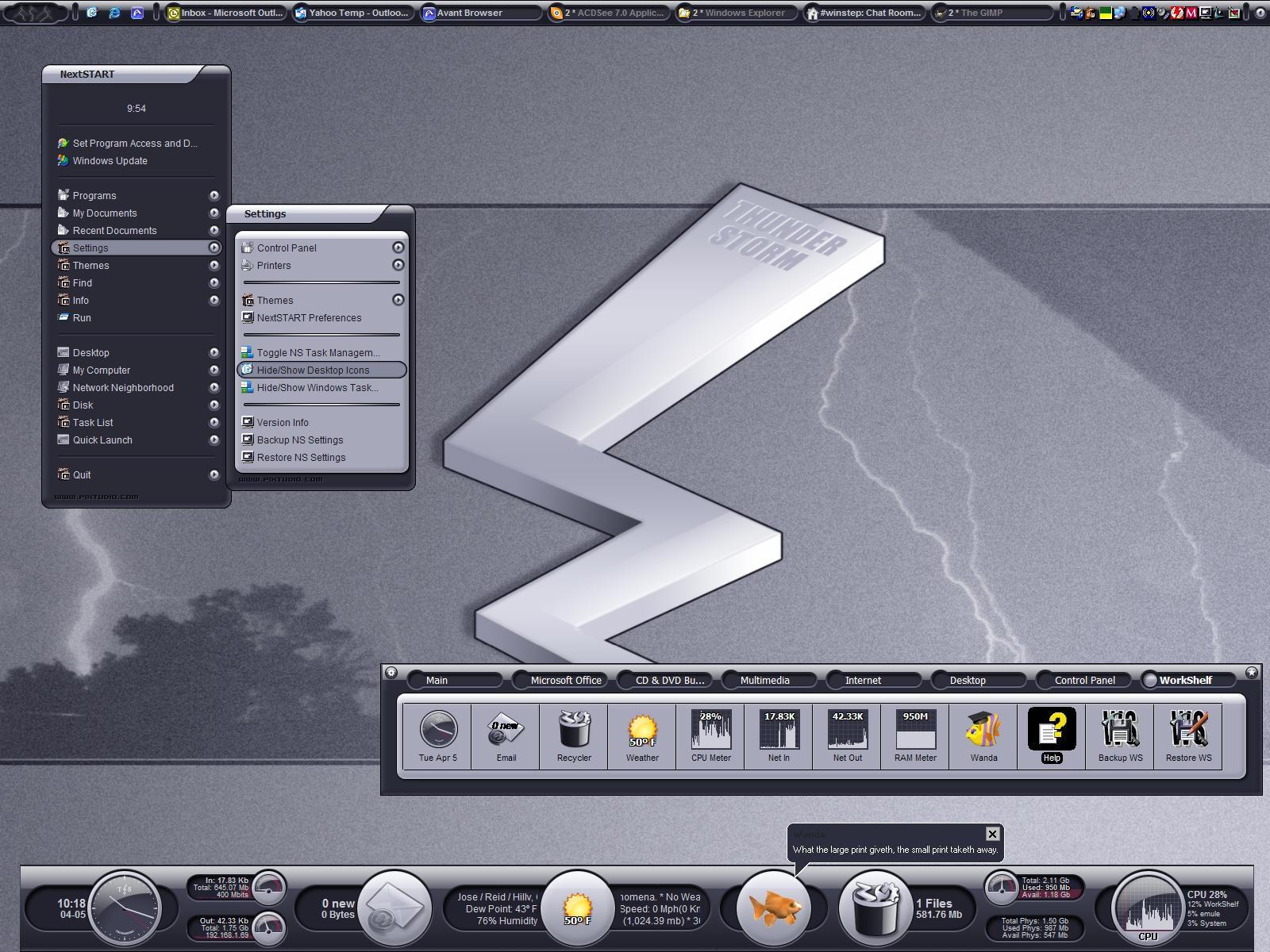 Thunder Storm by vectornut