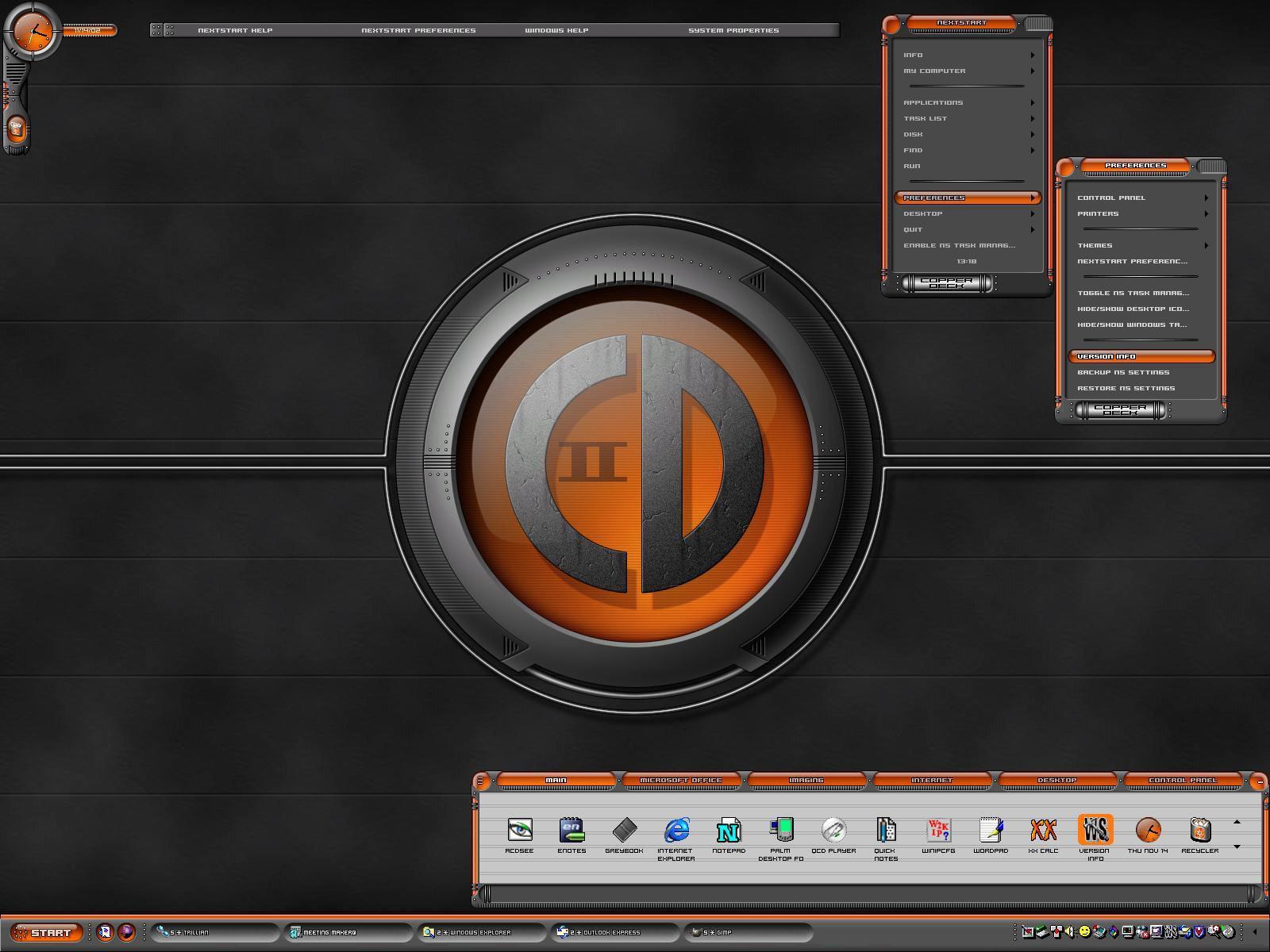 Copper Deck II for NextSTART 3 by vectornut