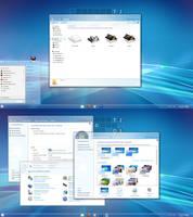 AERO METRO for windows 7 by RaymonVisual
