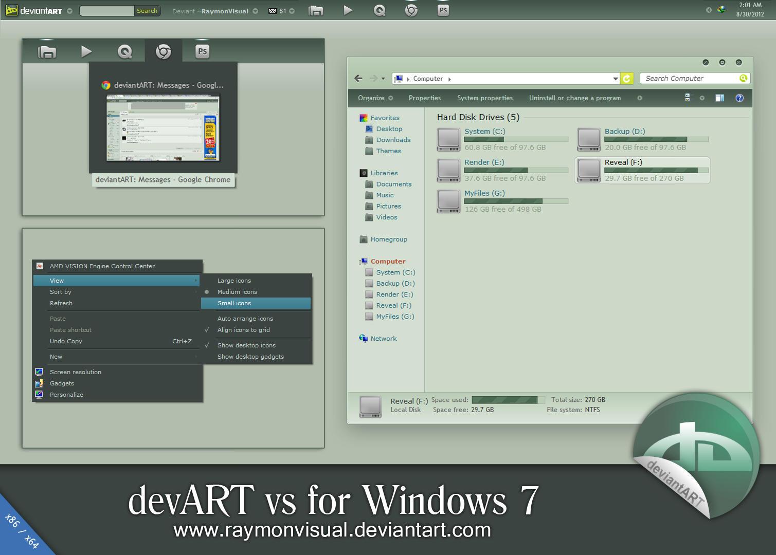 devART vs by RaymonVisual