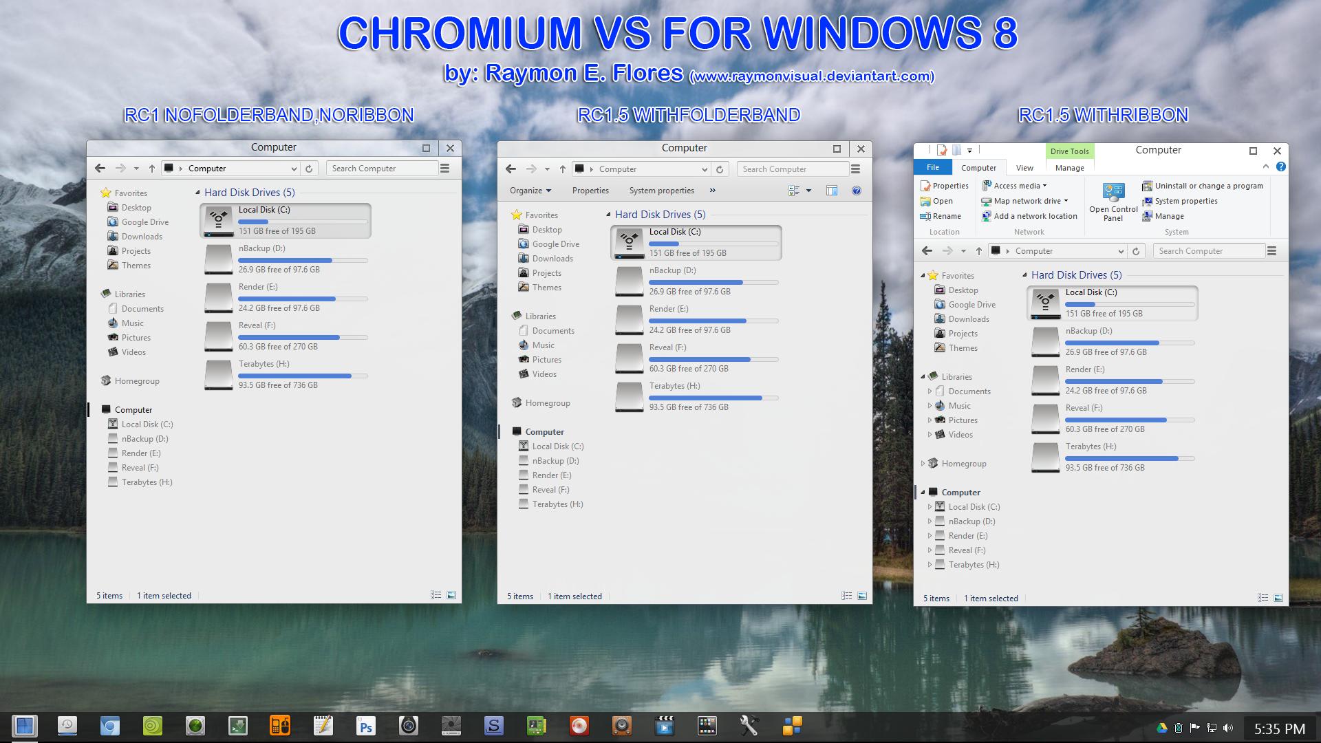 Chromium RC2 vs updated may16,2013