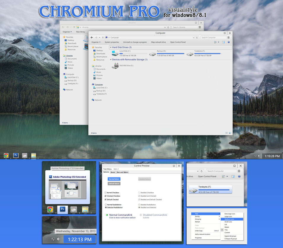 Chromium Pro vs (beta1) for windows 8/8.1 by RaymonVisual