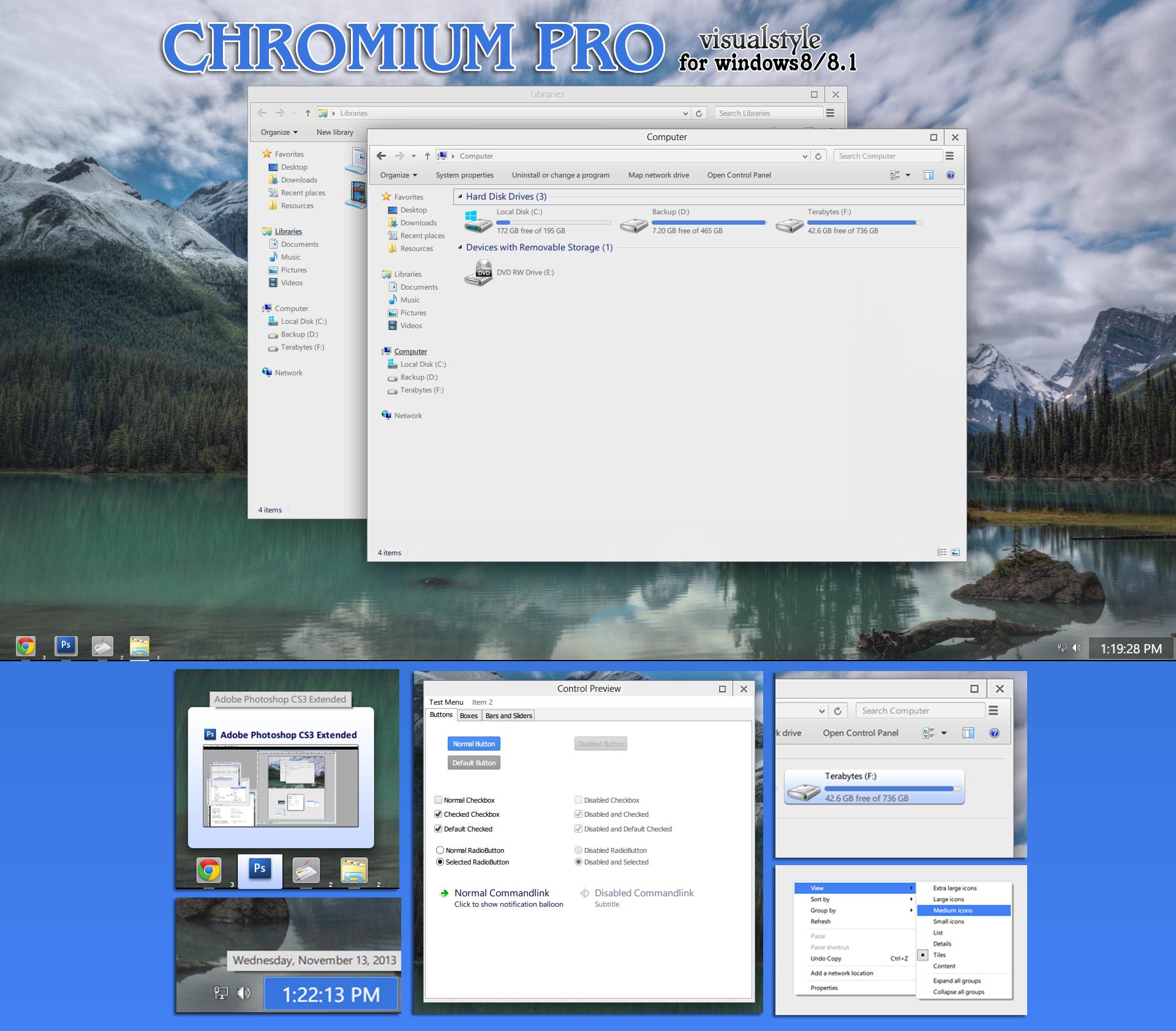 Chromium Pro vs (beta1) for windows 8/8.1 by RaymonVisual