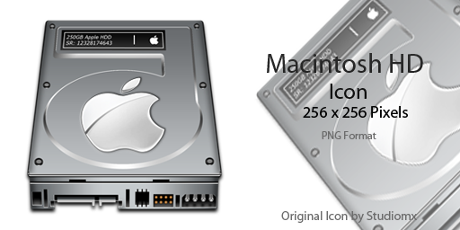 Mac Drive Icon by pygoscelis