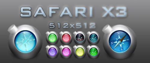 Safari X3 by harrunio