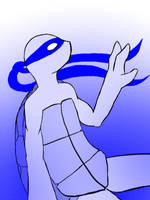 Leonardo Blue by aarikaM