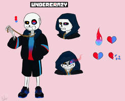 Crazy Sans-Reference by aarikaM