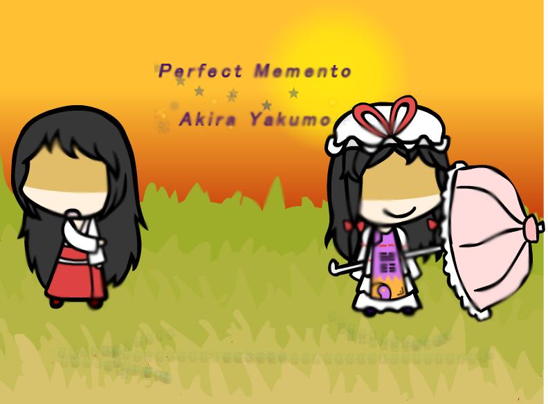 Perfect Memento: Akira Yakumo by FrozenFlyingKero