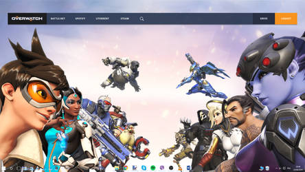 Overwatch Launcher 1.0 by Akmos37