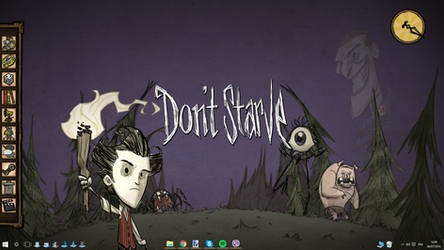 Don't Starve Rainmeter by Akmos37