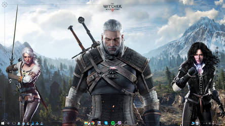 The Witcher 3 Desktop 1.1 by Akmos37