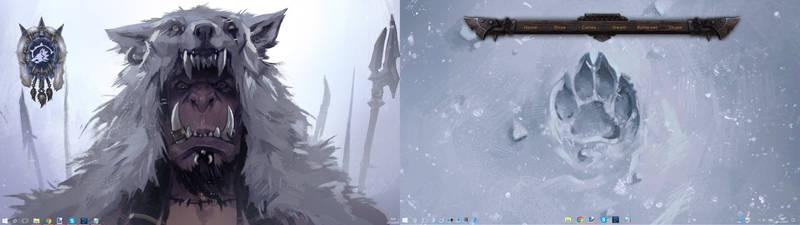 Durotan (Warcraft) Dual-screen