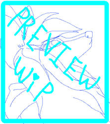 Aubrey Animation WIP by SwiftpawTheWolf