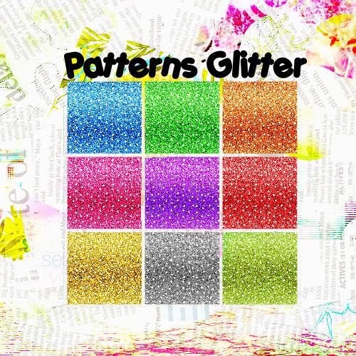 Pattern Glitter by zanessaxash